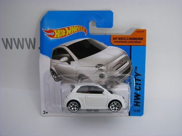 Hot Wheels 2014 Fiat 500 HW CITY 5785 25/250